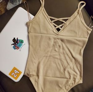 Basic Nude Women's Bodysuit